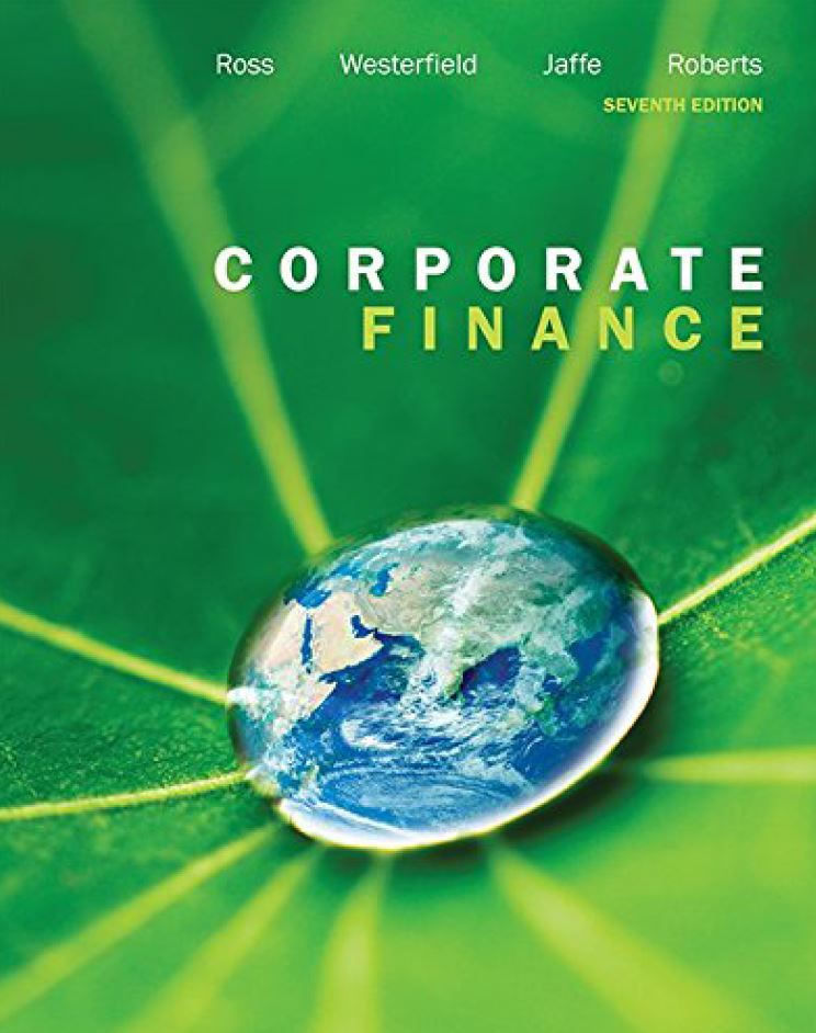 Corporate Finance 7th 7E  by Stephen Ross PDF