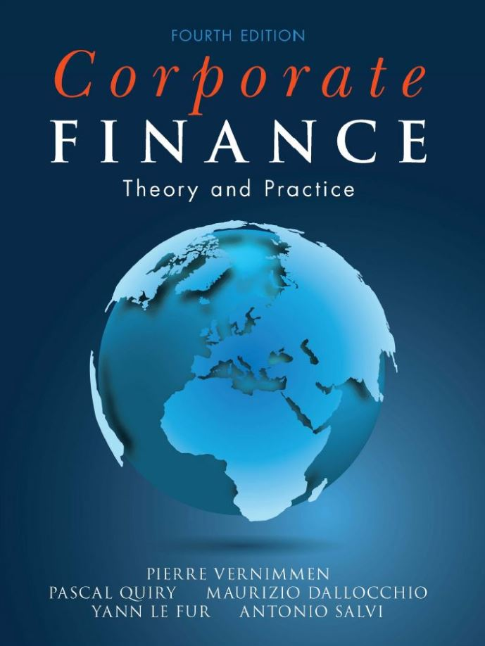 Corporate Finance; Theory and Practice 4th 4E PDF