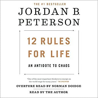 12 Rules for Life: An Antidote to Chaos  Unabridged Jordan B. Peterson Audiobook MP3 - Books with Benefits