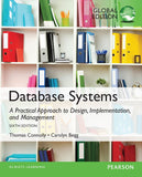 Database Systems 6th 6E Global Thomas Connolly PDF