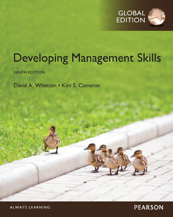 Developing Management Skills 9th 9E Global PDF - Books with Benefits