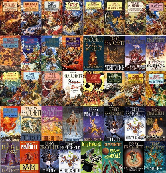 Discworld series complete collection 1-39 Audiobooks by Terry Pratchett - Books with Benefits