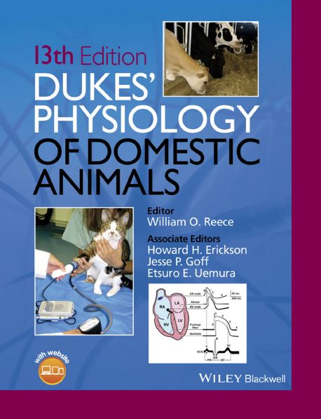 Dukes' Physiology of Domestic Animals 13th Edition by William O. Reece  PDF