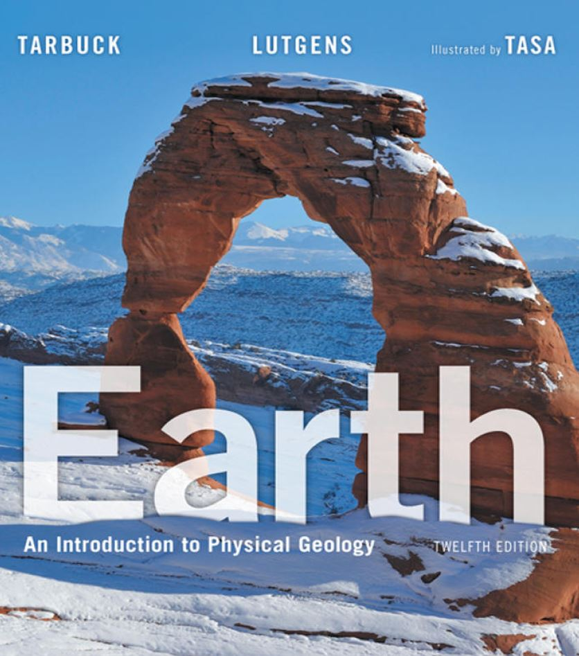 Earth: An Introduction to Physical Geology 12th Edition by Edward J. Tarbuck PDF