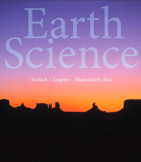 Earth Science, 14th Edition by Edward J. Tarbuck   PDF