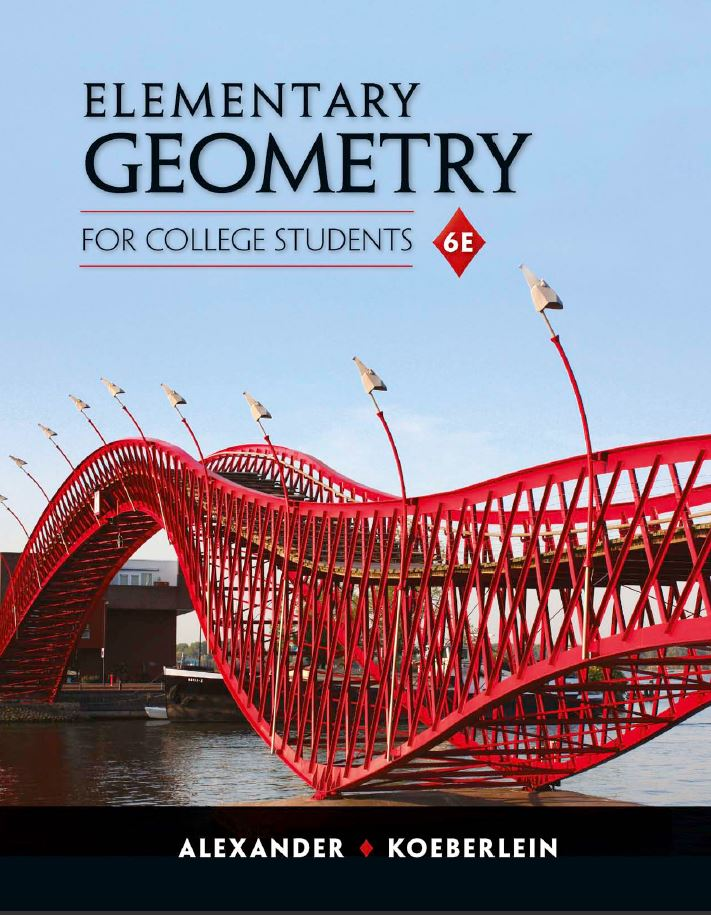 Elementary Geometry for College Students 6th Edition by Daniel C. Alexander  PDF