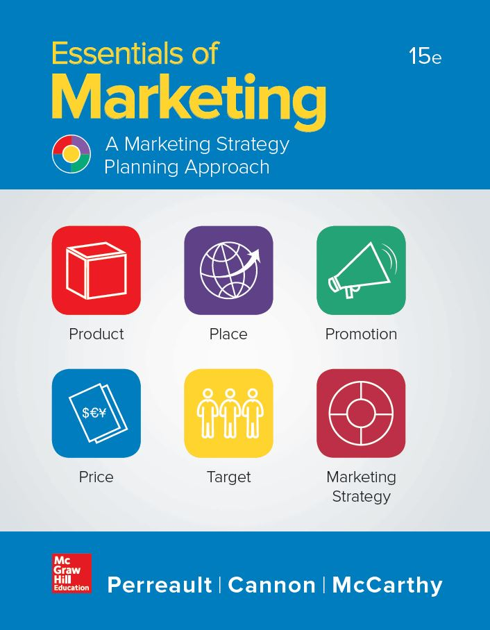 Essentials of Marketing 15th Edition by William D. Perreault PDF