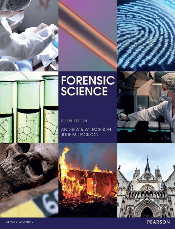 Forensic Science 4th 4E by Andrew Jackson PDF