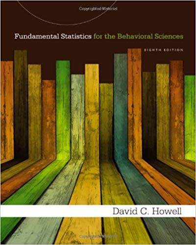 Fundamental Statistics for the Behavioral Sciences 8th Edition by David C. Howell PDF - Books with Benefits
