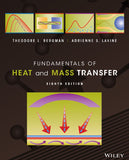 Fundamentals of Heat and Mass Transfer 8th Edition by Theodore L. Bergman PDF