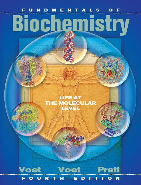Fundamentals of Biochemistry 4th Edition by Voet PDF - Books with Benefits