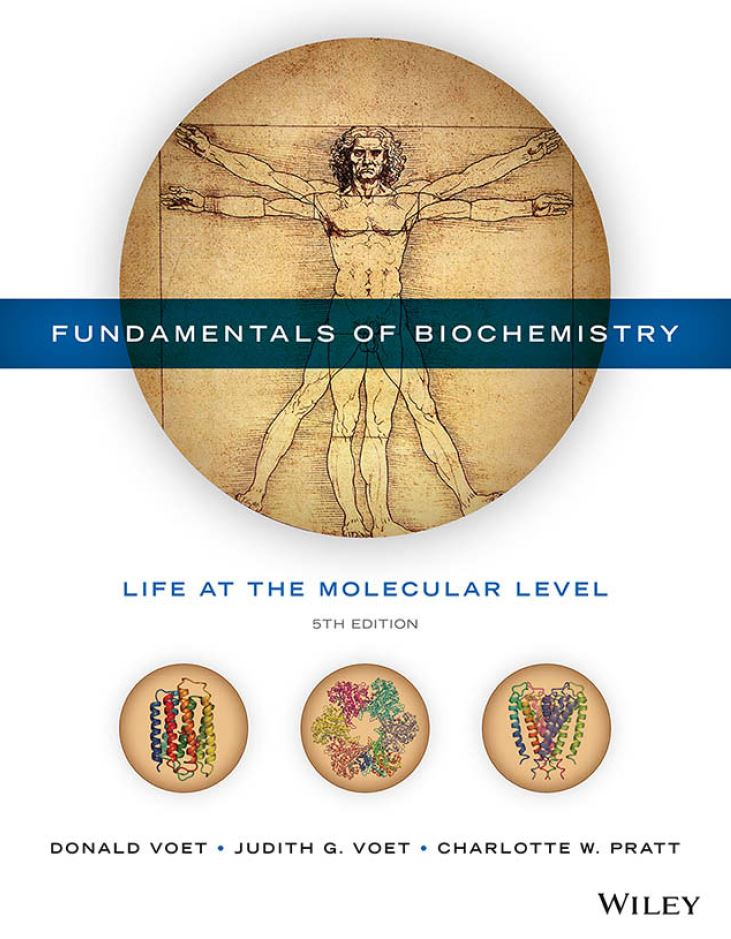 Fundamentals of Biochemistry: Life at the Molecular Level 5th by Donald Voet PDF