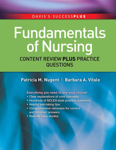 Fundamentals of Nursing Content Review Plus Practice Questions 1st Edition PDF - Books with Benefits