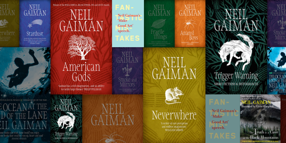 Neil Gaiman Collection Audiobooks - Books with Benefits