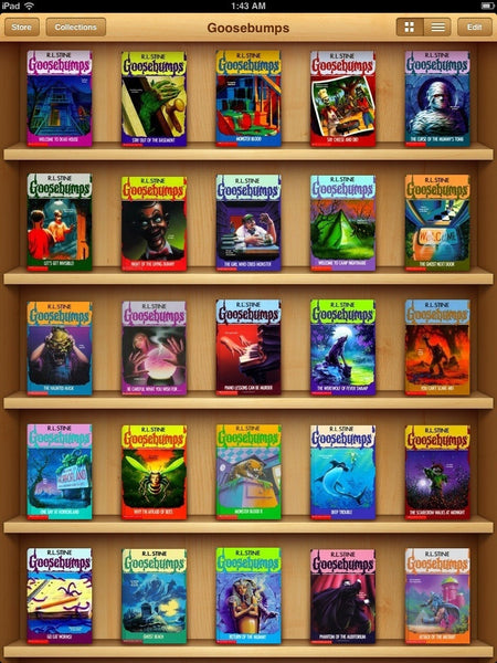The Complete Goosebumps Series Collection (1-62) Ebooks
