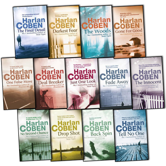 Harlan Coben Ebooks Collection - Books with Benefits