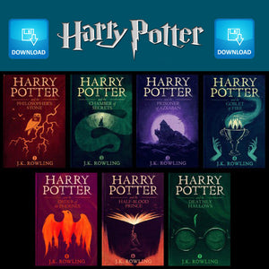 Harry Potter 1-7 Complete Audiobook Collection Set by J.K. Rowling  read by Stephen Fry MP3 Download - Books with Benefits