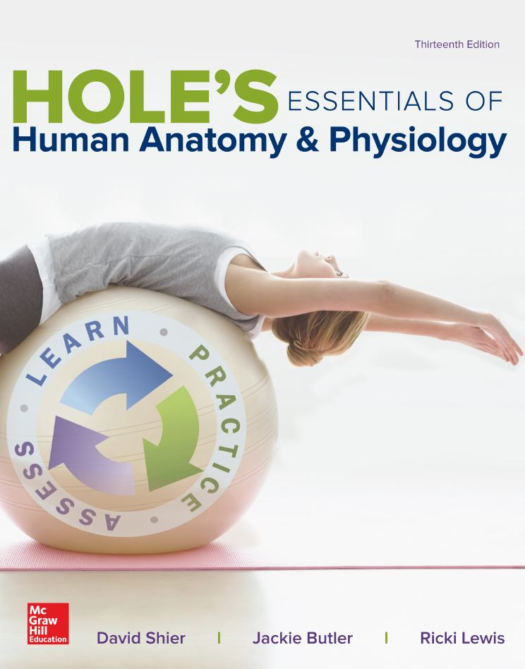 Hole's Essentials of Human Anatomy and Physiology 13th Edition by David N. Shier PDF