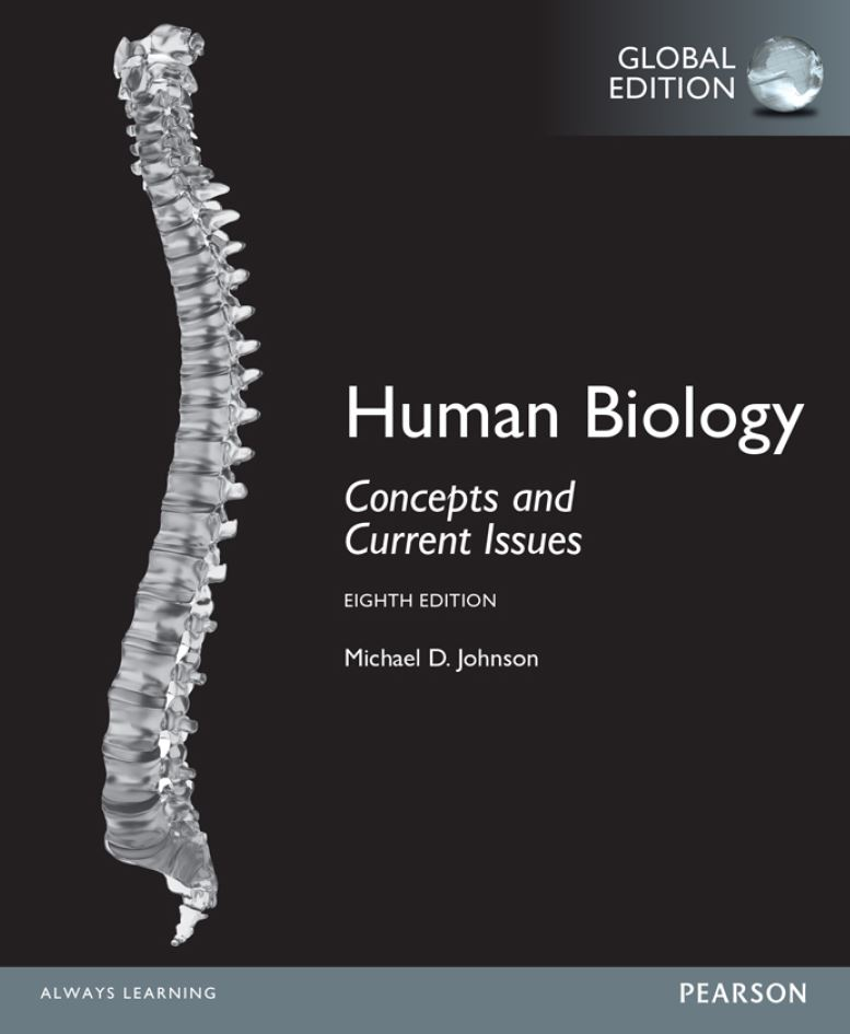 Human Biology; Concepts and Current Issues 8th 8E PDF
