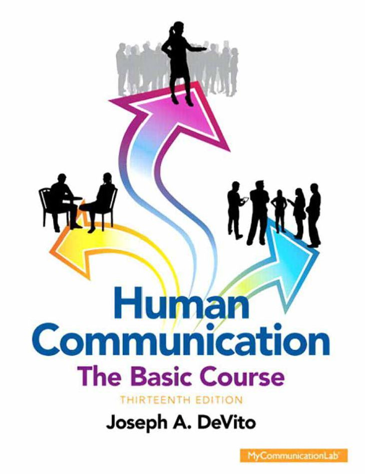 Human Communication: The Basic Course 13th Edition by Joseph A. DeVito PDF