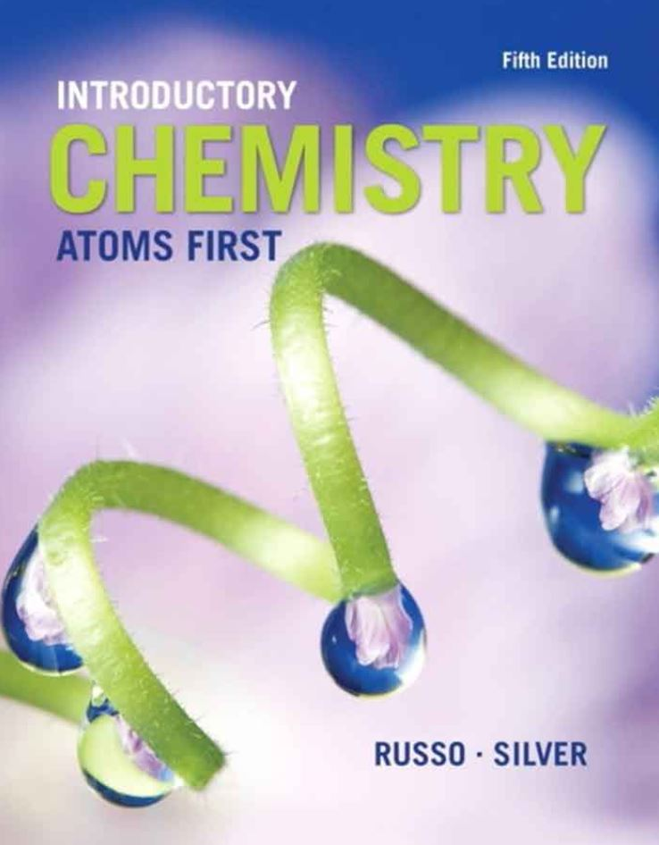 Introductory Chemistry: Atoms First  5th Edition by Steve Russo PDF