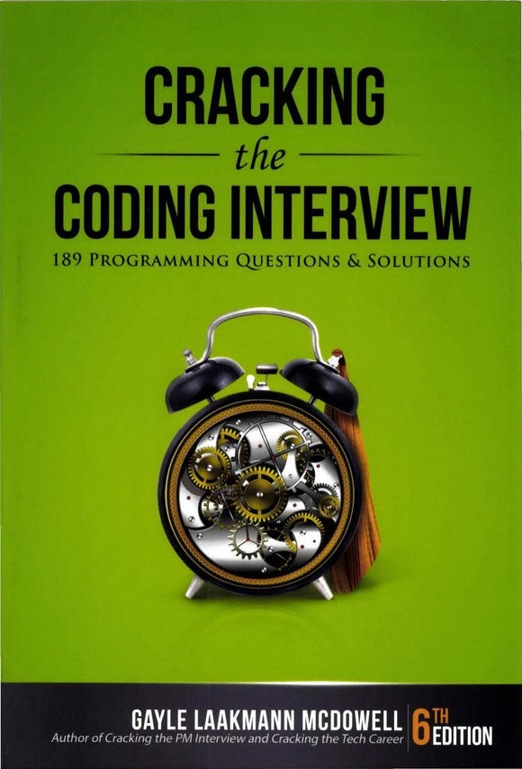 Cracking the Coding Interview: 189 Programming.. 6th Edition (PDF) - Books with Benefits