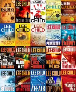 Jack Reacher Complete 20 Audiobook Series By Lee Child Mp3 - Books with Benefits
