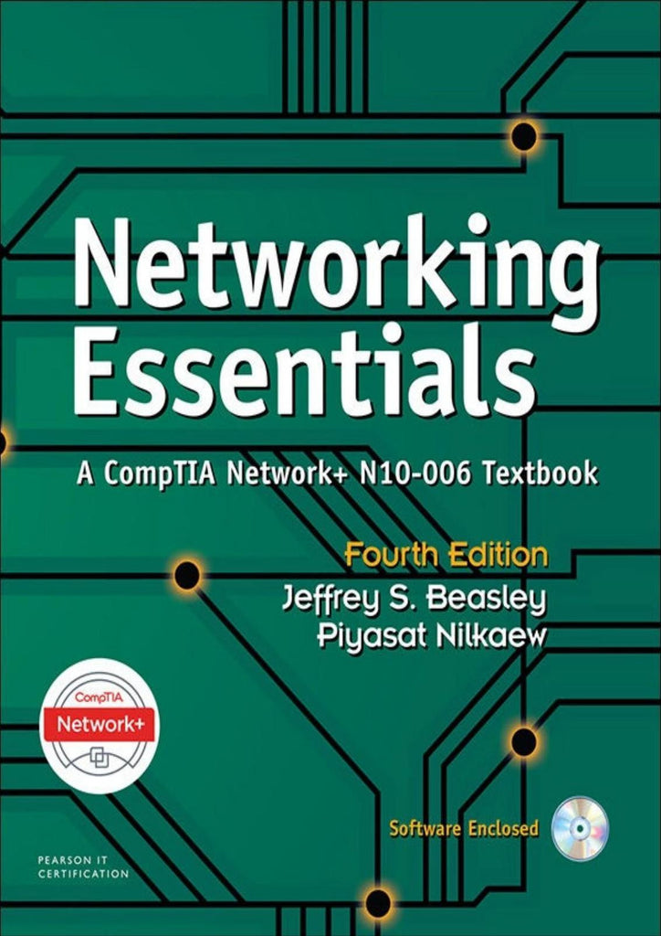 Networking Essentials: A CompTIA Network+ N10-006 4th Edition by Jeffrey S. Beasley  PDF