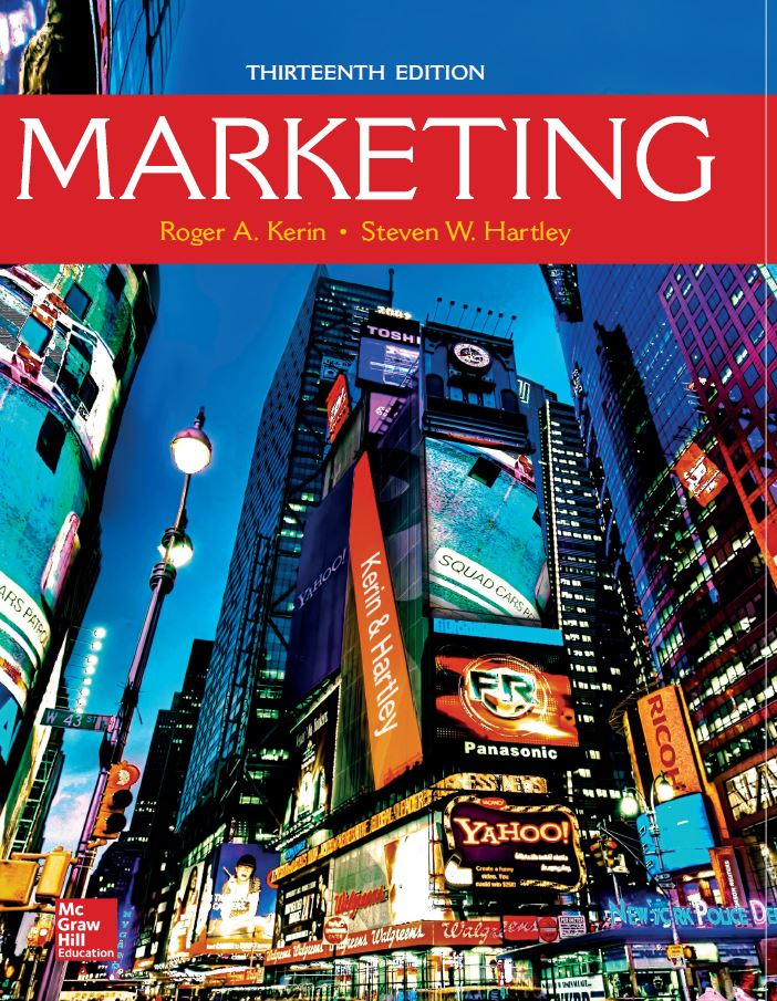 Marketing 13th Edition by Roger A. Kerin PDF