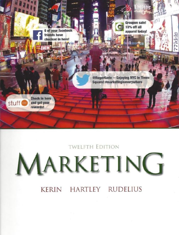Marketing 12th Edition by Roger A. Kerin PDF