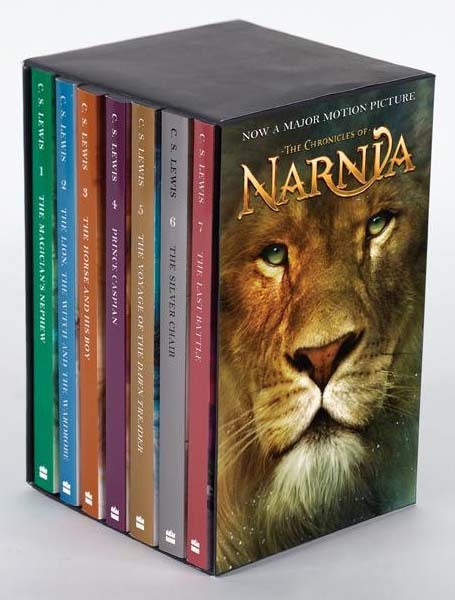 Chronicles of Narnia Complete Series Collection (1-7 eBooks) - Books with Benefits