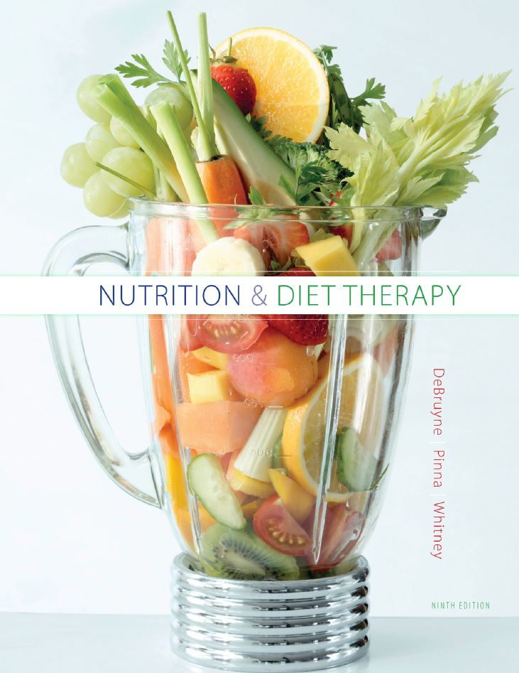 Nutrition and Diet Therapy  9th Edition by Linda Kelly DeBruyne PDF