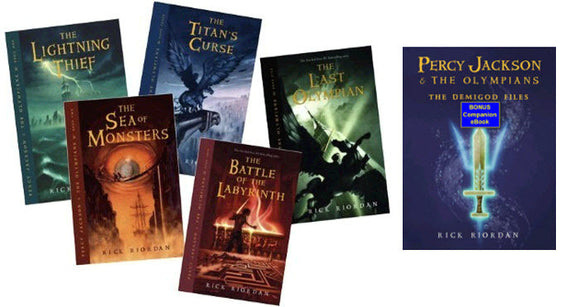 Percy Jackson and the Olympians 1-5 eBook Set - Books with Benefits