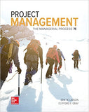 Project Management: The Managerial Process  7th Edition by Erik W. Larson PDF