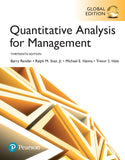 Quantitative Analysis for Management 13th 13E Global PDF