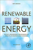 Renewable Energy: Physics, Engineering, Environmental Impacts, Economics and Planning 5th Edition by Bent Sørensen  PDF