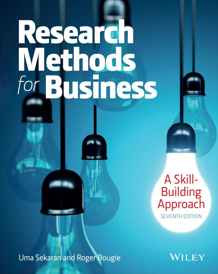 Research Methods For Business: A Skill Building Approach 7th Edition by Uma Sekaran PDF
