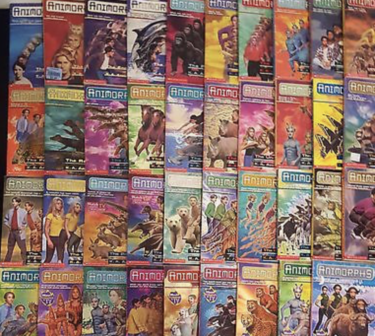 Animorphs Complete Series (1-54) + Bonuses Ebooks