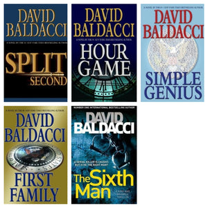 Sean King and Michelle Maxwell  1-6 by David Baldacci Ebooks - Books with Benefits