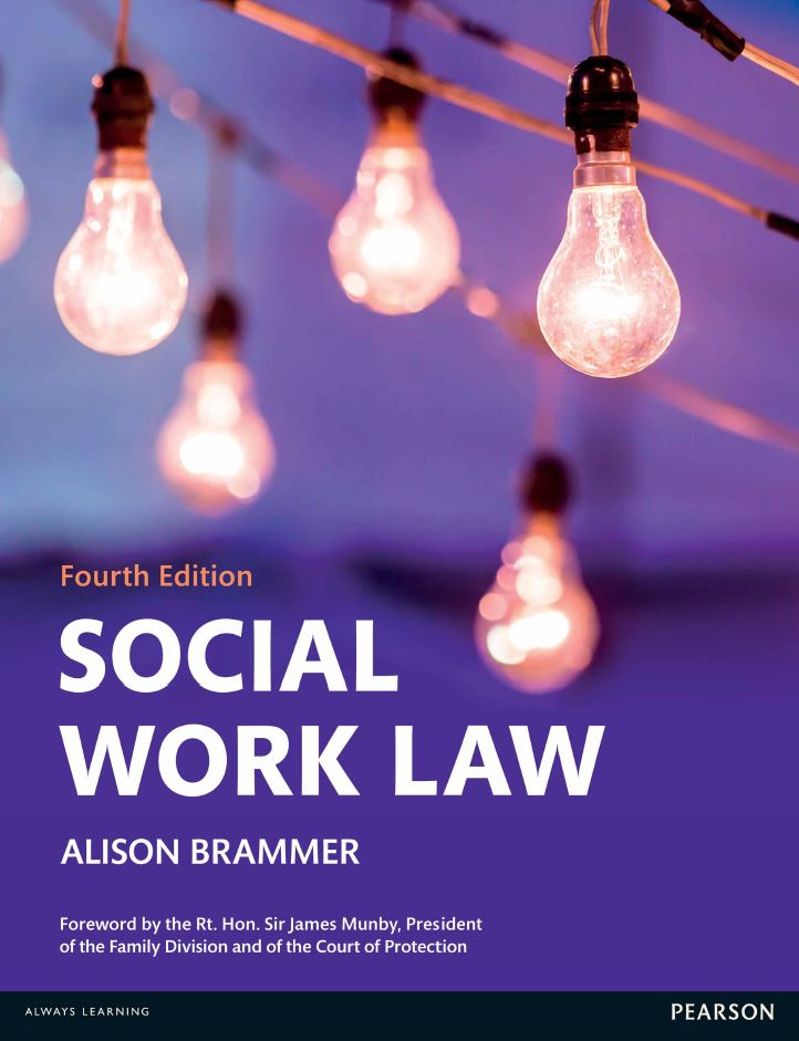 Social Work Law 4th Edition by Alison Brammer PDF