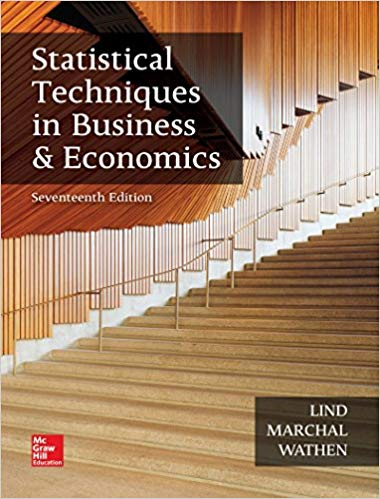 Statistical Techniques in Business and Economics  17th Edition by Douglas A. Lind PDF