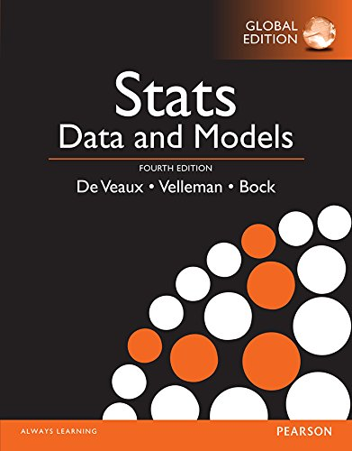 Stats; Data and Models 4th 4E Global De Veaux PDF