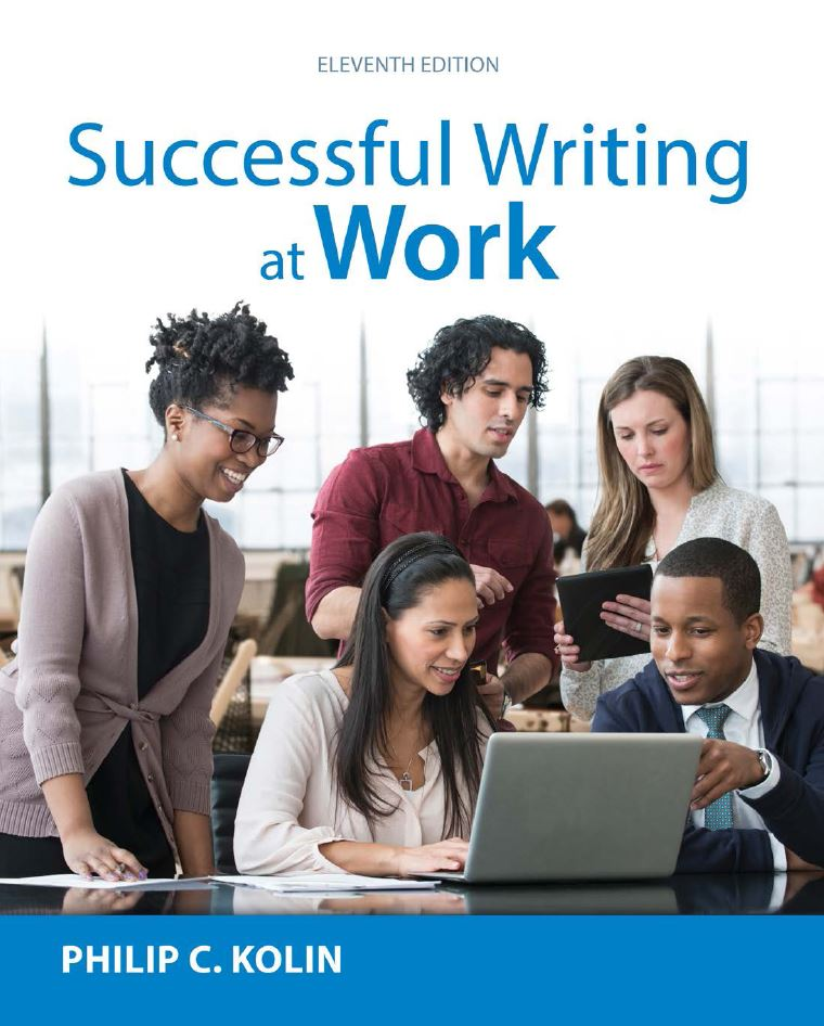 Successful Writing at Work  11th Edition by Philip C. Kolin PDF