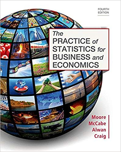 The Practice of Statistics for Business and Economics Fourth Edition by Layth C. Alwan PDF