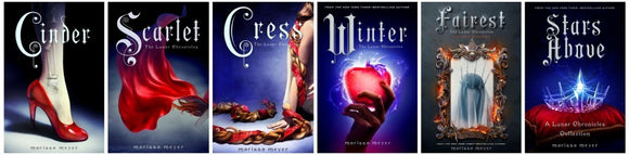 The Lunar Chronicles 1-6 Audiobooks Series by Marissa Meyer  MP3 - Books with Benefits