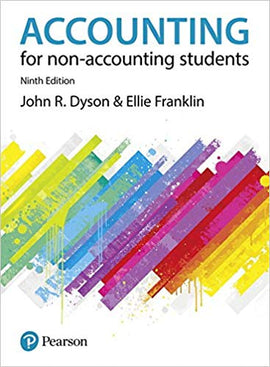 Accounting for Non-Accounting Students 9th  Edition by John R. Dyson  PDF