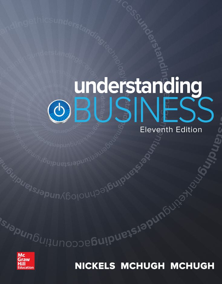 Understanding Business, 11th Edition Nickels PDF