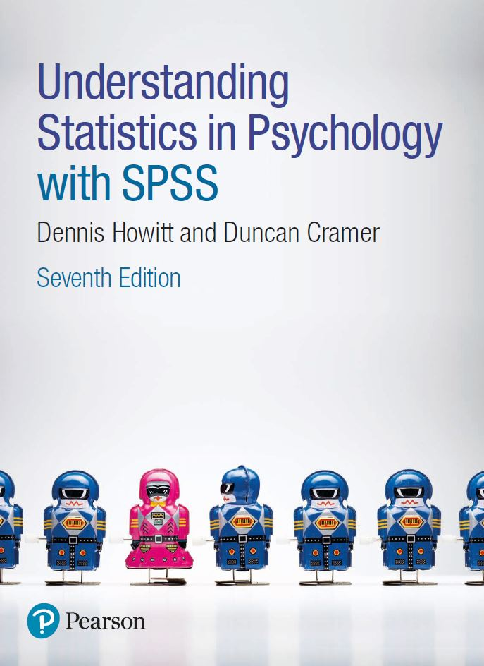 Understanding Statistics in Psychology with SPSS 7th Edition by Dennis Howitt PDF