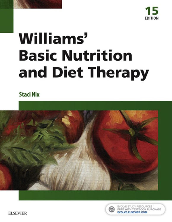 Williams' Basic Nutrition and Diet Therapy 15th 15E PDF