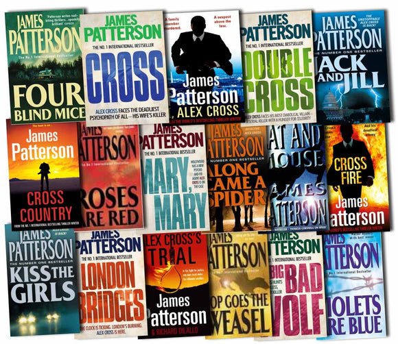 Alex Cross series 1-25 by James Patterson Ebooks - Books with Benefits